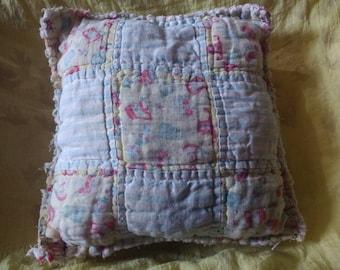Antique Quilt Dream Pillow: Rose-Lavender-Chamomile