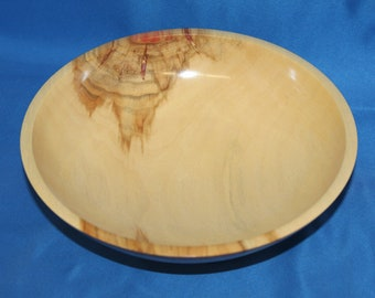 Flamed Box Elder Bowl Item # 47 (See Bowl Notes Below)