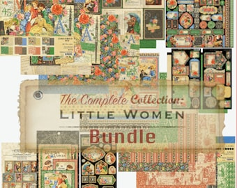 Graphic 45 Little Women Gotta Have It All Complete Bundle Ships Free