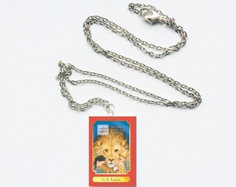 Chronicles of Narnia mini book necklace