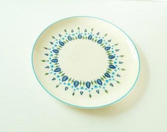 Vintage Swiss Chalet Platter