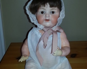 "Armand Marseille 16"" Composition Baby Doll Marked ""Germany 990 A 6 M"""