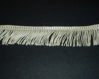 "Bullion fringe - 2"" - over 25 yards"