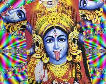 Kali Goddess Printed T-shirt