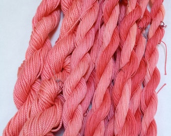 Sunset - Hand Dyed Tatting Thread in Size 20