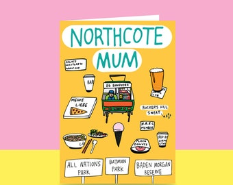 Mother's Day Card  - Northcote Mum