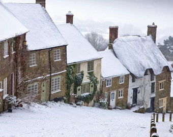Gold Hill in Winter