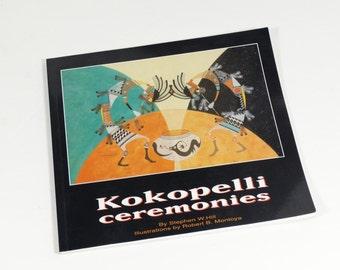 Kokopelli Ceremonies - 1995 - Robert Montoya - Stephen Hill - Pueblo Art , Western Art, Indian Art, Native American Art ,Southwest