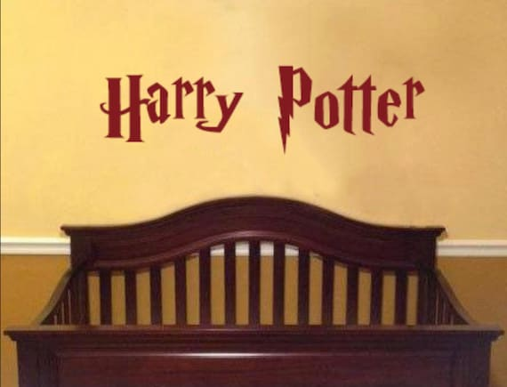 Personalized Name Decal Harry Potter Inspired Font
