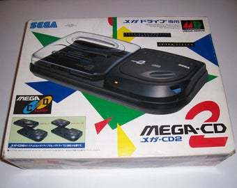SALE! Very Rare Sega Mega-CD 2 Japan (Original Box Only, Good Condition)