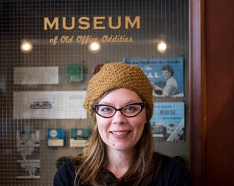 Crochet Pattern for Museum Hat