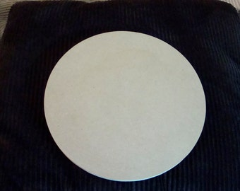 "12"" Circle Unfinished Mdf Wood Round Mosaic Base Craft Shape  Choose Your Thickness"
