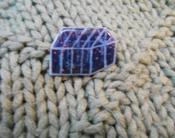 Nighttime Greenhouse Pin