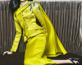 SPLENDID MOMENT _The Chartreuse Suit.
