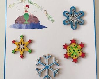 Snowflakes Decorations 2