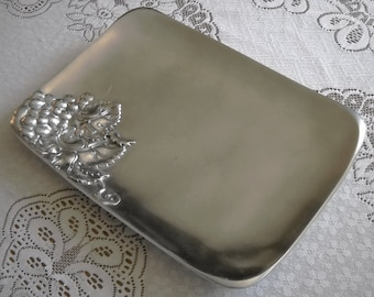 "Arthur Court ""Grapes"" Rectangle Tray Serving Platter 13.5 x 10 NICE."