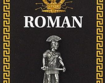 Roman Centurion Pewter Pin Badge