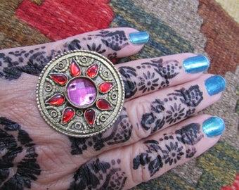 Tribal Kuchi Star Ring