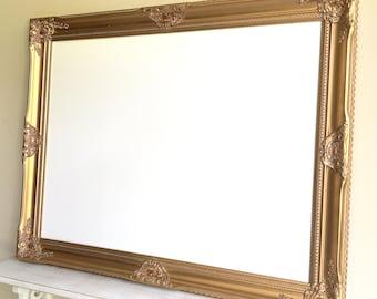 HOME OFFICE DECOR Gold White Board Dry Erase Board Desk Organizer Framed Magnetic Whiteboard Home Office Wall Organizer Inspiration Board