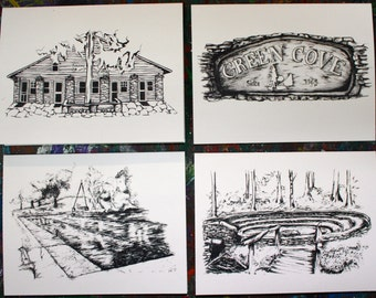 Green Cove Greetings cards