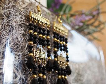 Nightfall Dangle Earrings