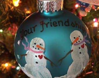 Friendship Ornament-Best Friends