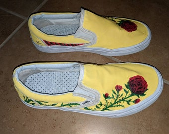Custom Hand Painted Vans
