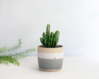 Misty Morning Planters // Mini Planter // Herb pot // new home // succulent // gift for her // gift for him