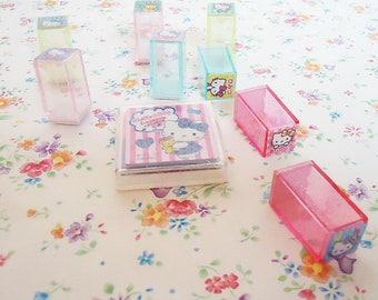 The Hello Kitty Sanrio Stamp Set.