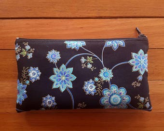 Cosmetic Bag Women, Women Cosmetic Bag, Cosmetic Bag Floral, Makeup Bag Women, Toiletries Bag, Floral Zipper Pouch, Makeup Bag Floral, Gift