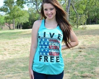 Live Free Tank Top