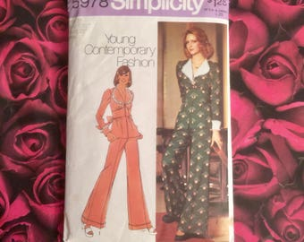 70's Vintage Simplicity Sewing Pattern#5978 Size 10