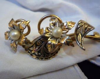 Vintage brooch style Art nouveau vintage - vintage pin