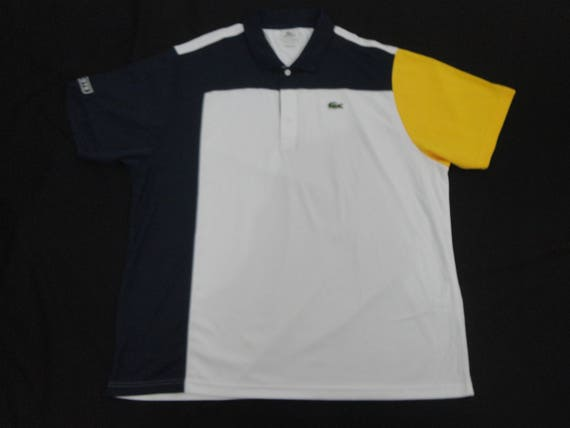 Lacoste Sports Mens Men Polo Shirt Size 4 M White 5191l-H09 devanlay Cotton 100% Vintage Brand New Rare sQQBG