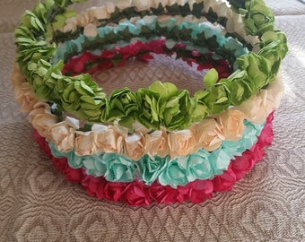 Paper Flower Crown- Choice of Colors