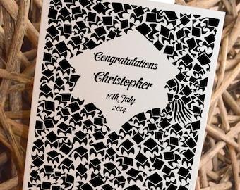 Personalised Graduation Card