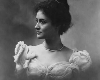 Photo Portrait of Princess Kaiulani, Hawaii, 1897