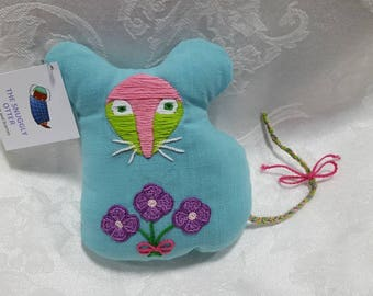 Embroidered Mouse