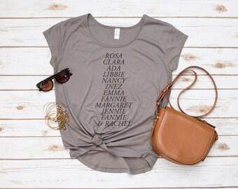 Pi Beta Phi Shirt, Founders