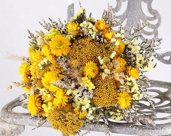 Bring Me Sunshine Dried Flower Posy