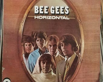 Bee Gees Horizontal Orig Inner Sleeve Contemporary Pop Soft Rock LP Atco Records SD-33-233 Barry Gibb Maurice Gibb Robin Gibb