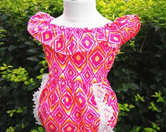 Baby romper Baby Girl Romper baby girl clothes baby gift Baby Girl set baby shower gift toddler romper Aztec gypsy outfit Aztec
