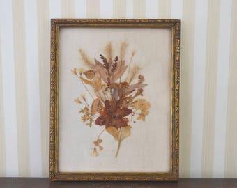 Vintage Pressed Floral