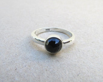 onyx ring sterling silver onyx ring onyx jewelry sterling black onyx ring