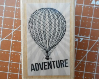 Hot Air Balloon Rubber Stamp Lot 29  Adventure