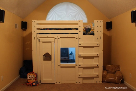 Queen Cabin Bed Plans The Bed Fort