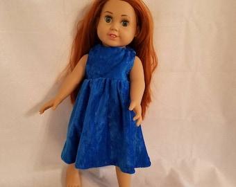 Bright Blue Fancy Dress
