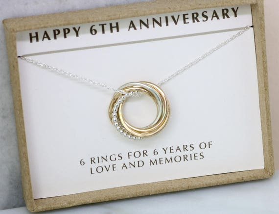 Sixth Wedding Anniversary Gift: 6th Anniversary Gift 6 Year Anniversary Gift For Wife 6th