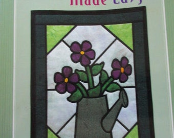 Stained Glass Quilts Made Easy, Amy Whalen Helmkamp, Matingale Publishing, 2000