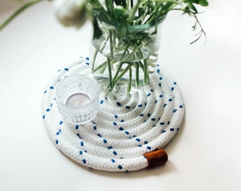 Maritime wedding - Plate / decorative tray for tea lights and vases